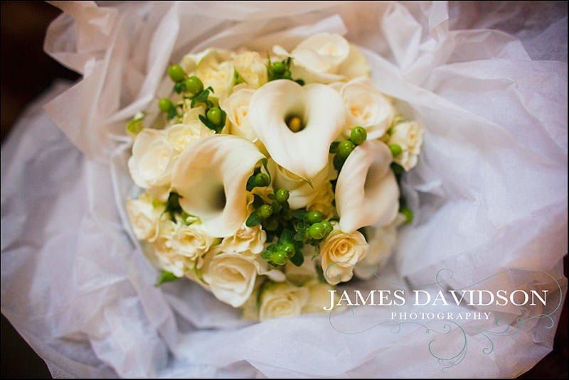 bridal bouquet for norfolk wedding