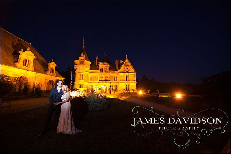 Chateau de la Bourdaisiere wedding photography