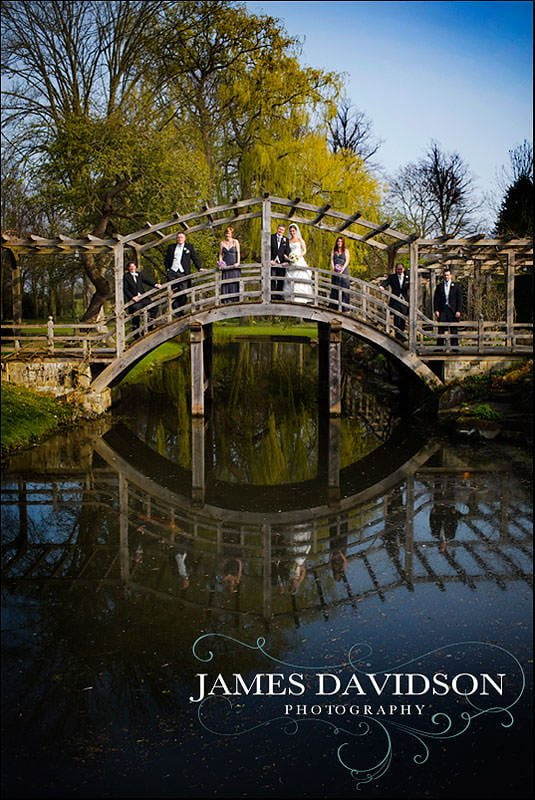 bridge at Great Fosters