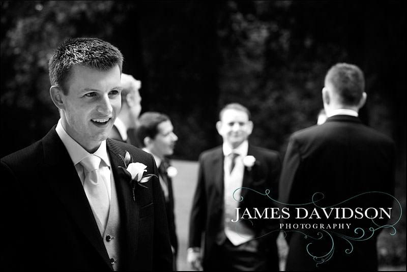 groom at Prestwold Hall