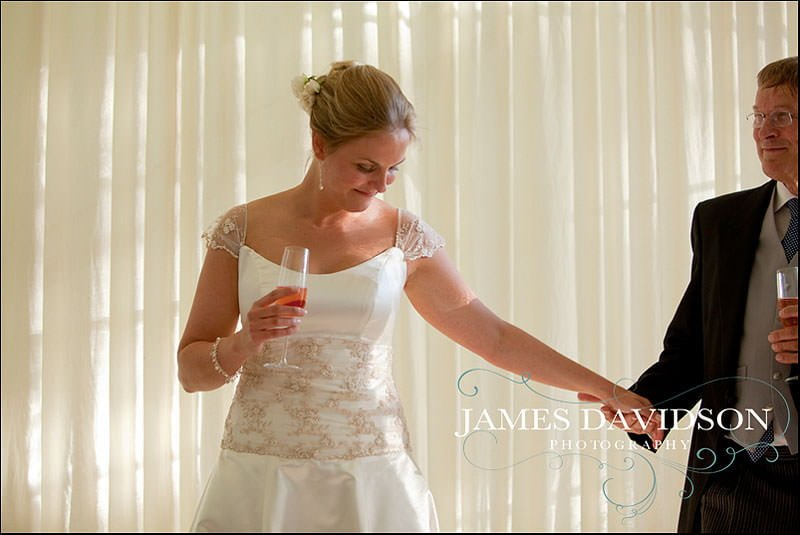 bride with father emotional