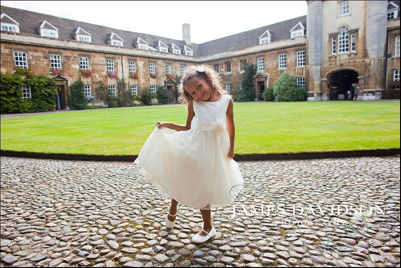 Christ's College Wedding Photography
